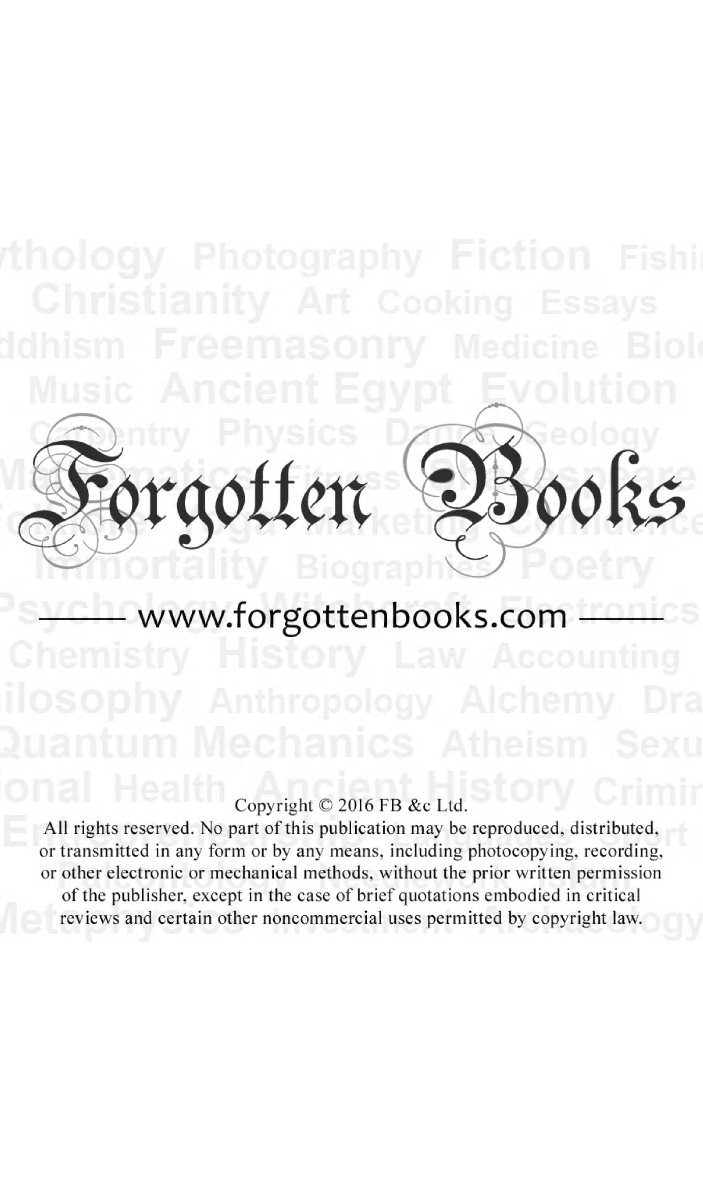 Untitled Forgotten Books  