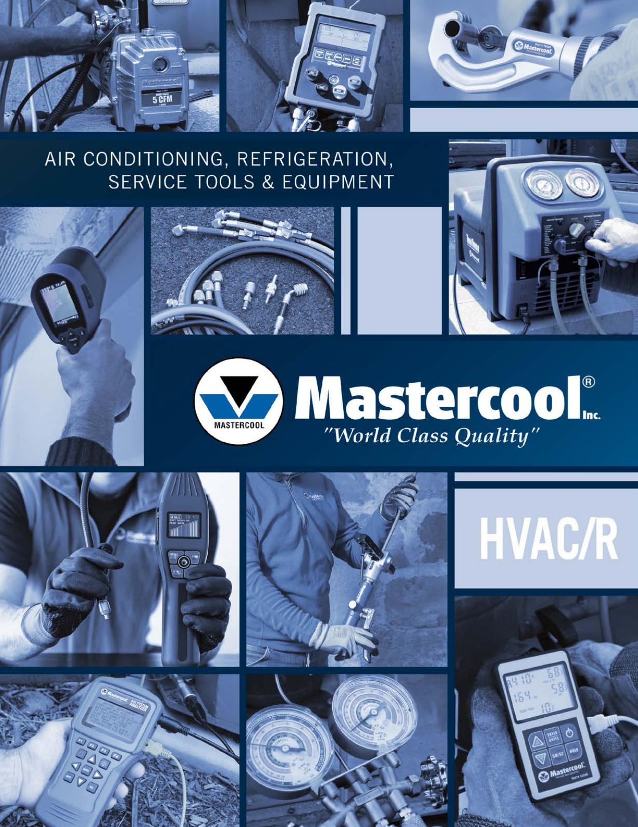 Mastercool 58203 2-Way Ball Valve Manifold w//3//8 Bore /& 3 1//8 gauge