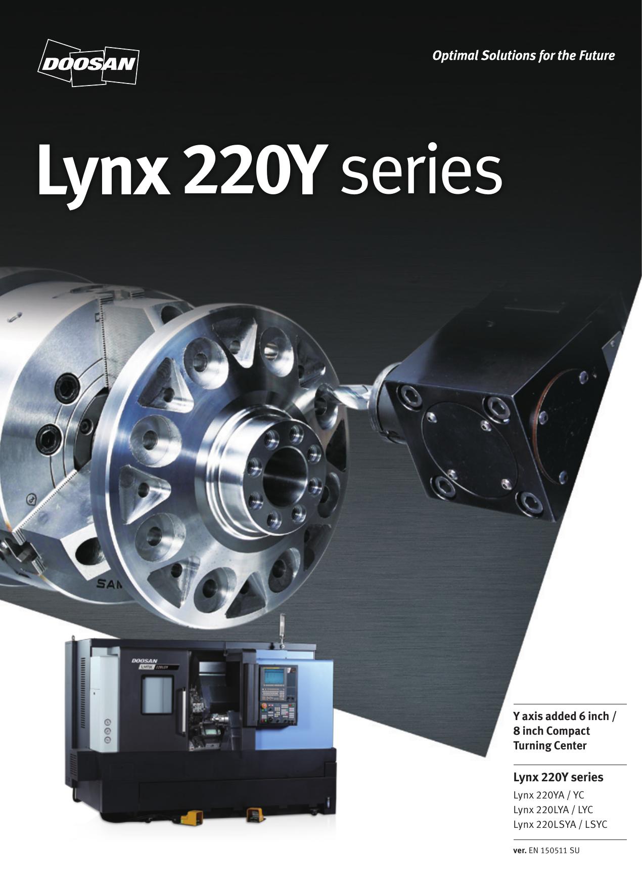 Lynx 220Y series | manualzz com