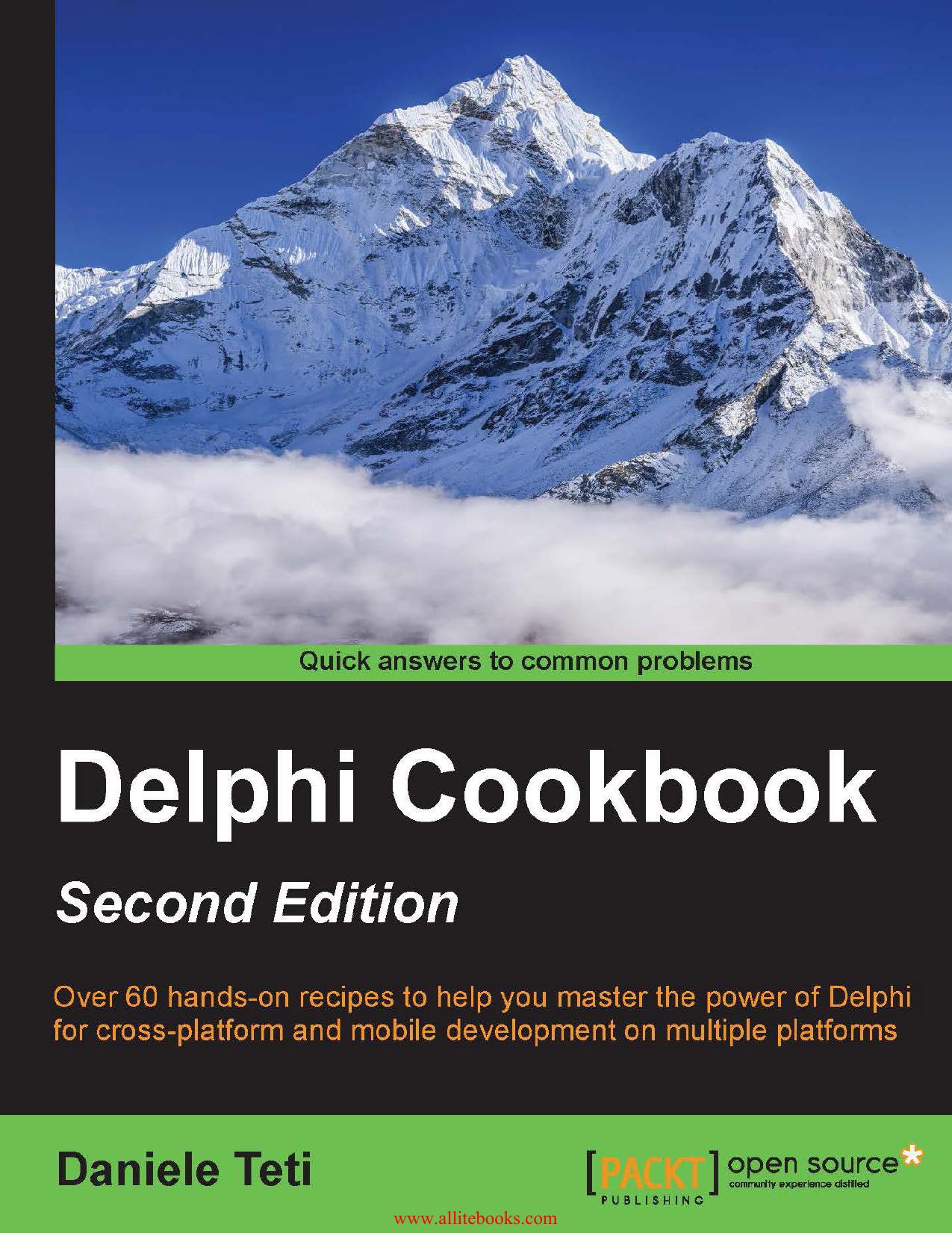 Delphi Cookbook - Second Edition | manualzz com