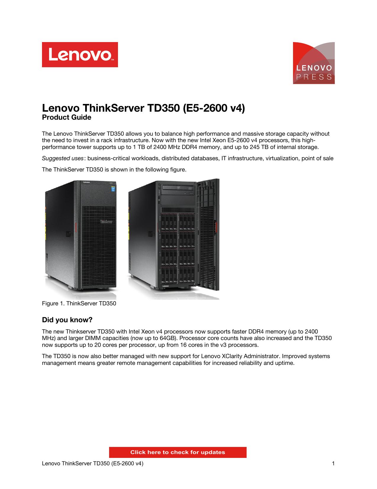 "Lenovo ThinkServer Gen 5 2.5/"" 900GB 10K Enterprise SAS 12Gbps HDD 4XB0G88762 ZZ"