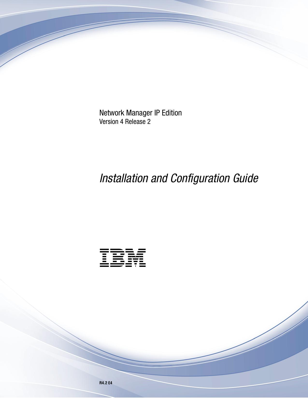 IBM Tivoli Network Manager IP Edition: Installation and | manualzz com