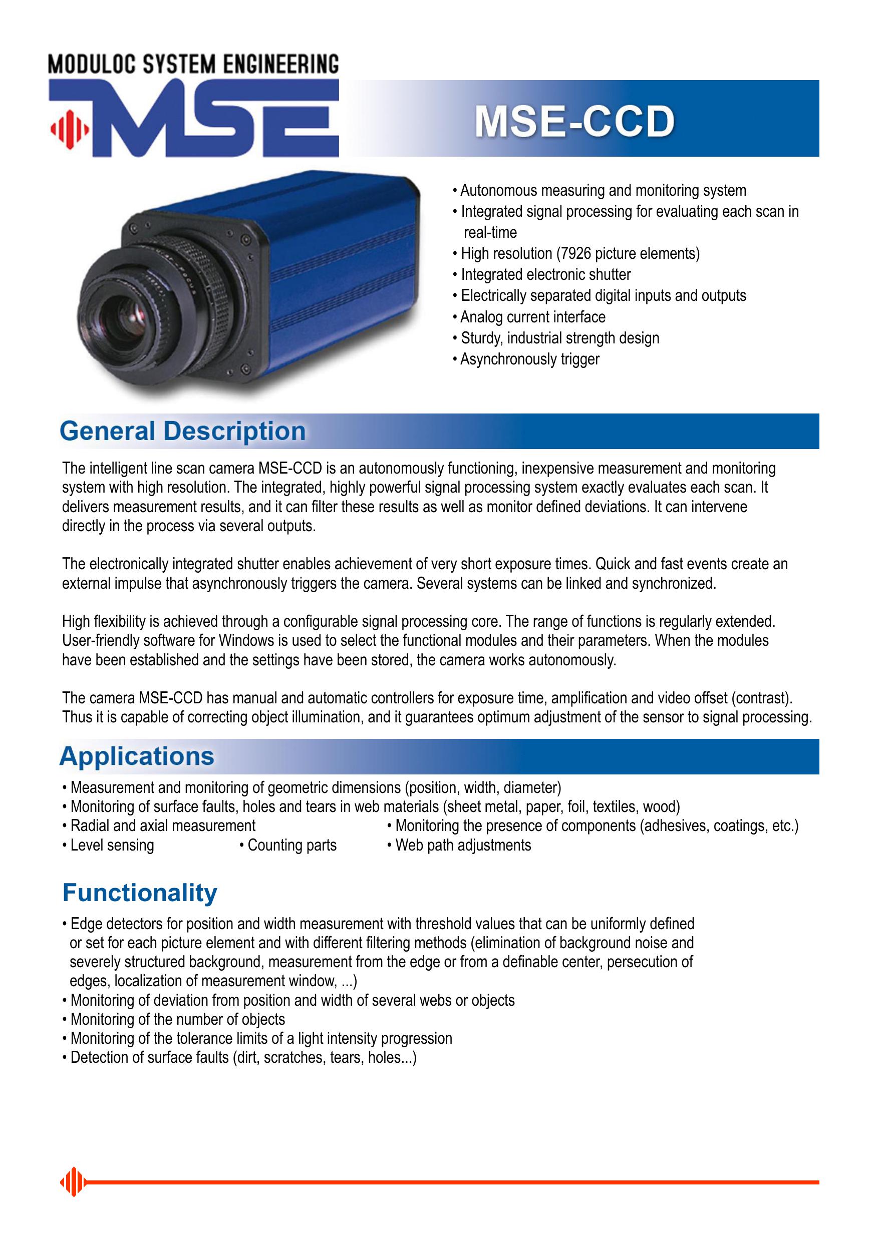 Functionality - MSE - Moduloc System Engineering | manualzz com