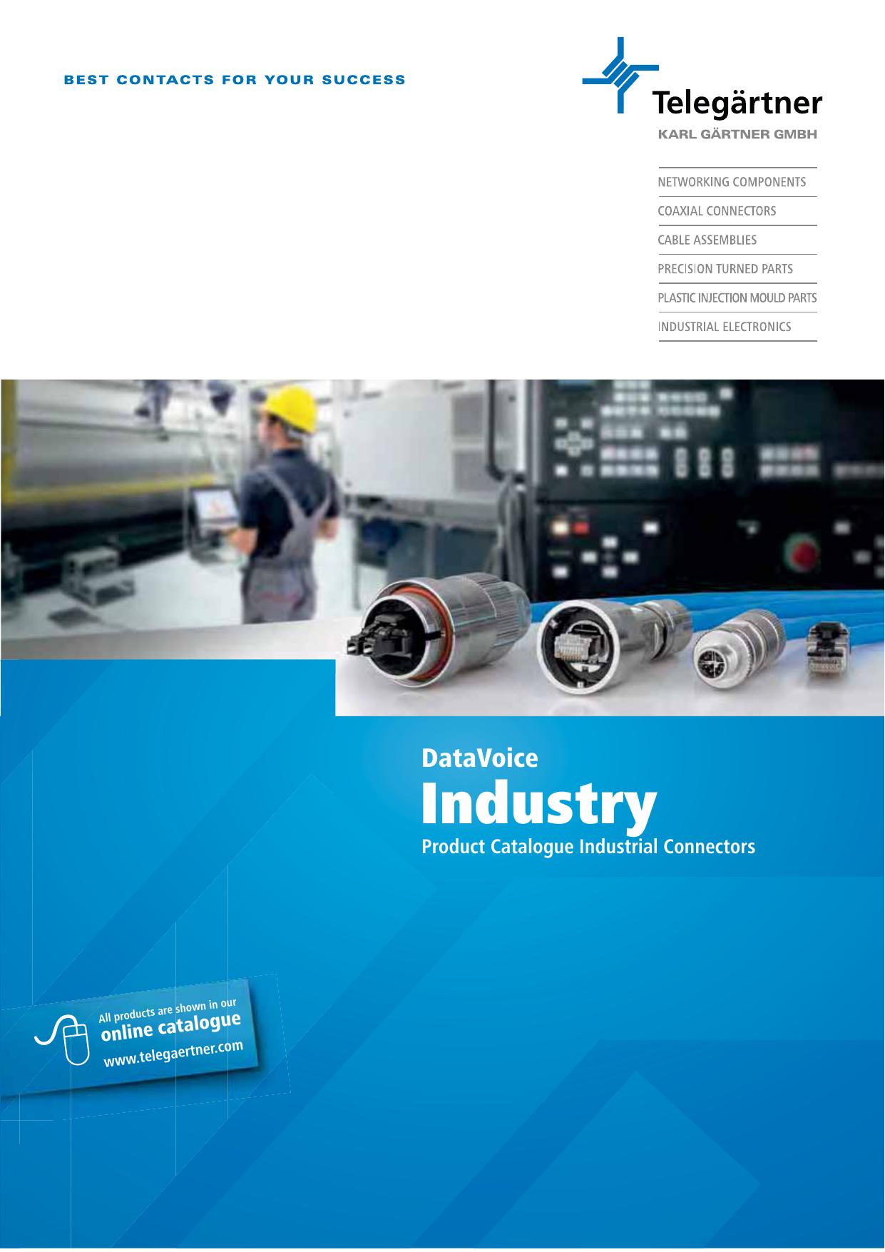 Industry - Telegärtner | Manualzz