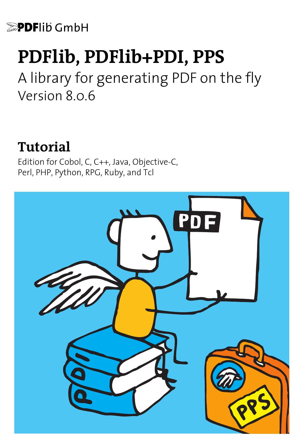 PDFlib 8 Tutorial