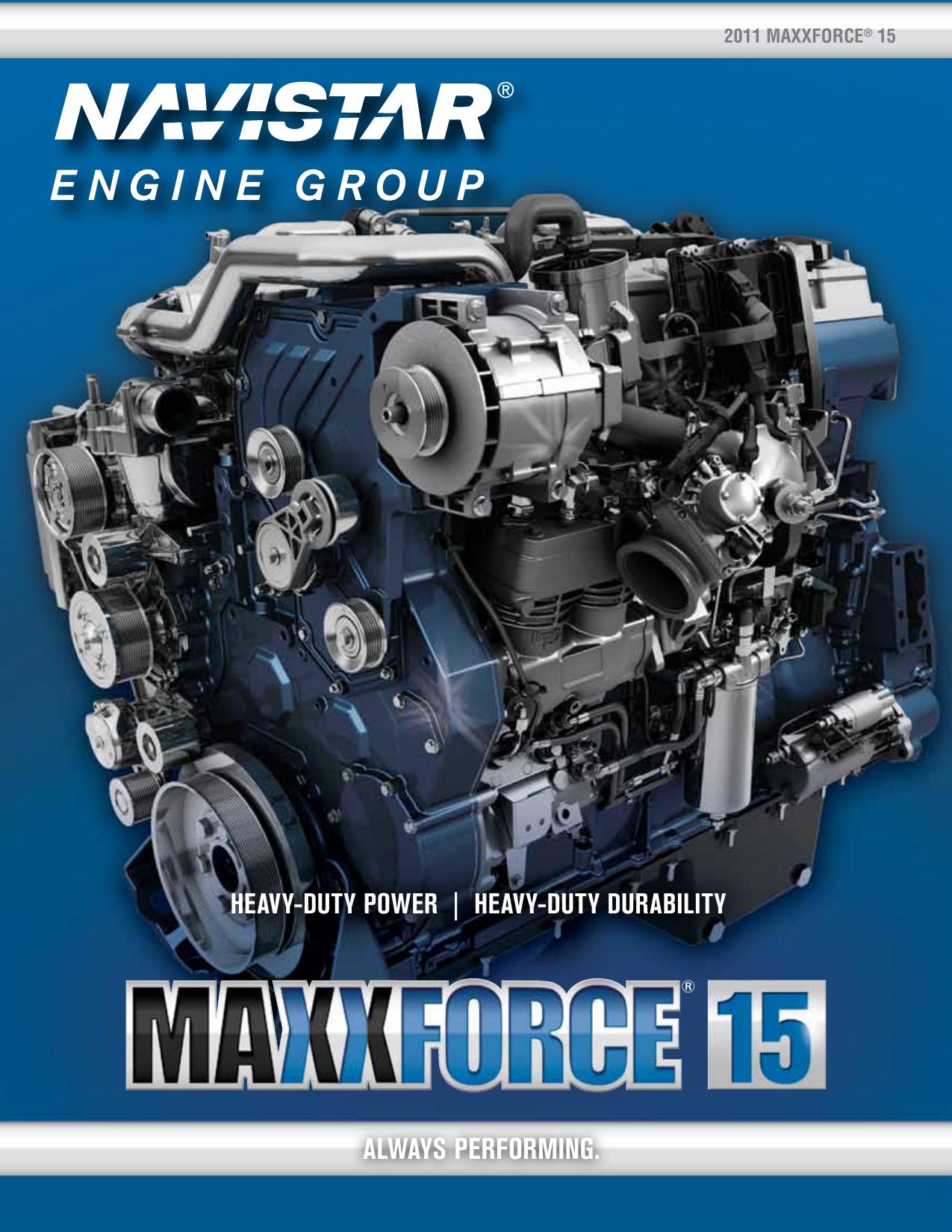 maxxforce 15 - Gibbs International Truck | manualzz com