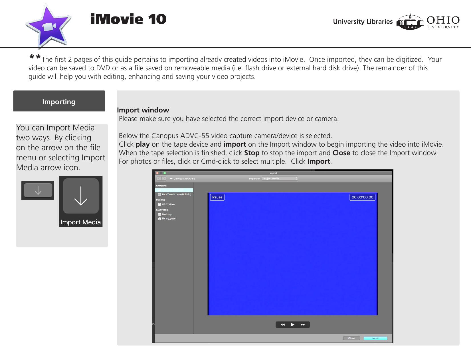 iMovie 10 | manualzz com