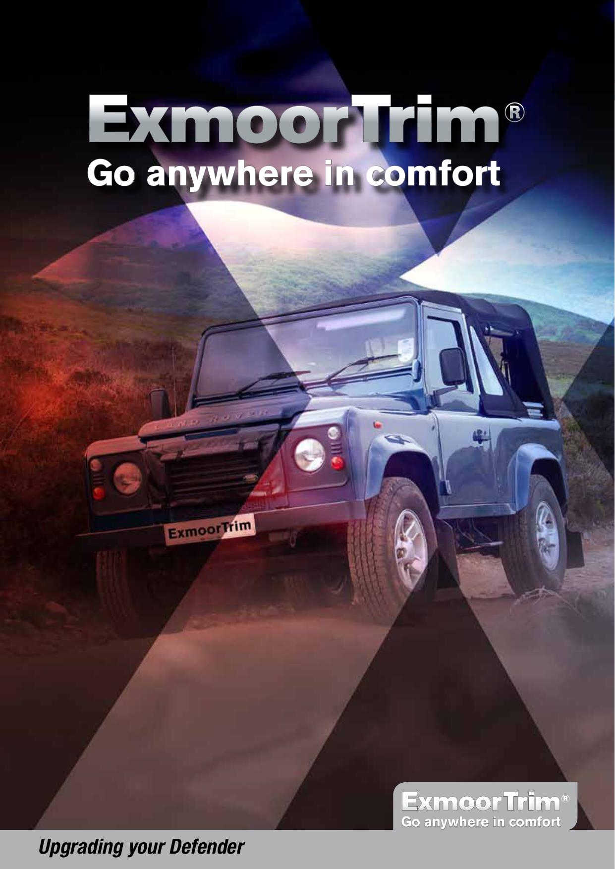 Exmoor Trim Land Rover Defender Series Standard Lap Belt Centre Load Area Seat