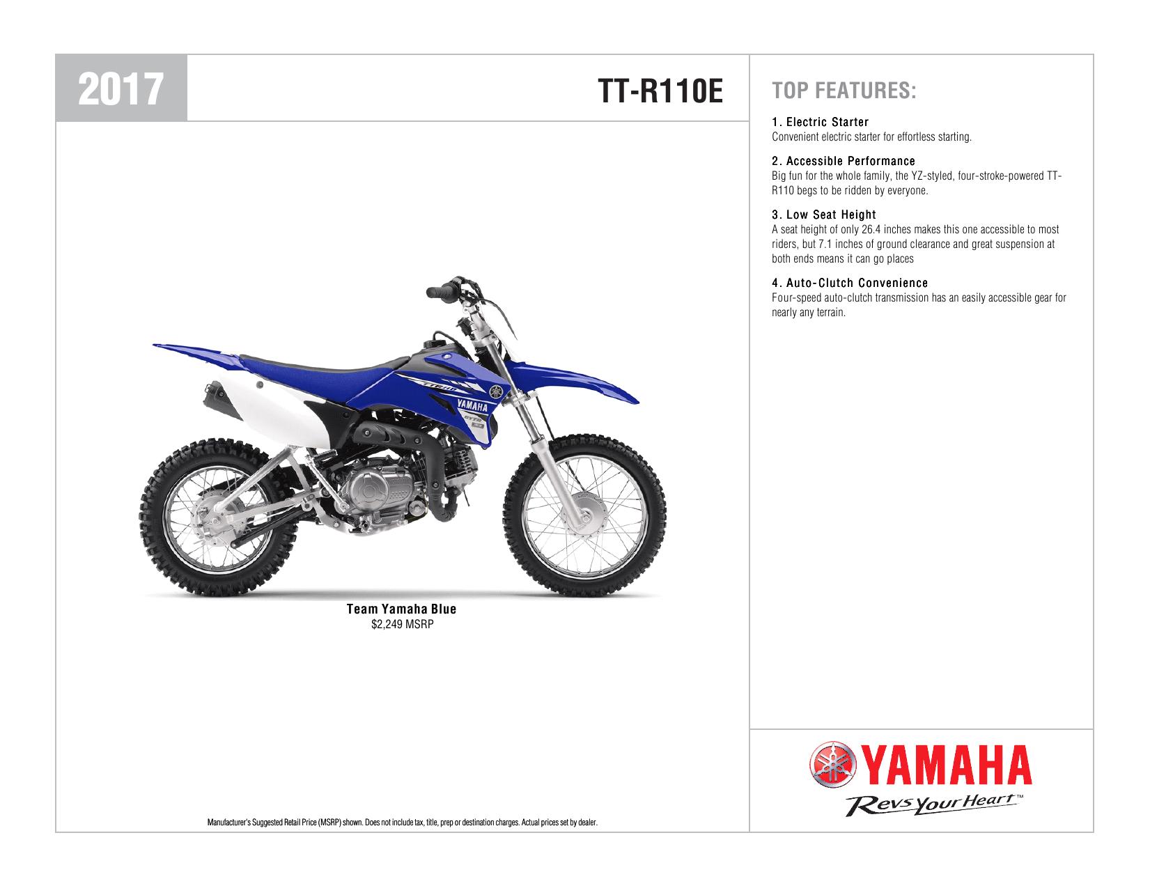 Fine Tt R110E Yamaha Motor Manualzz Com Alphanode Cool Chair Designs And Ideas Alphanodeonline
