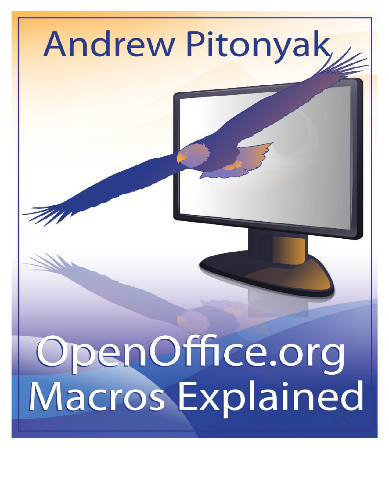 OpenOffice org Macros Explained | manualzz com