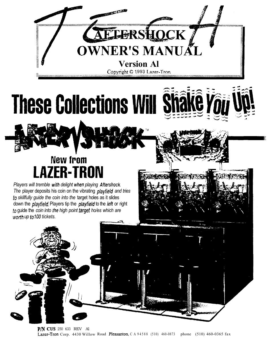 lazer-tron | manualzz com