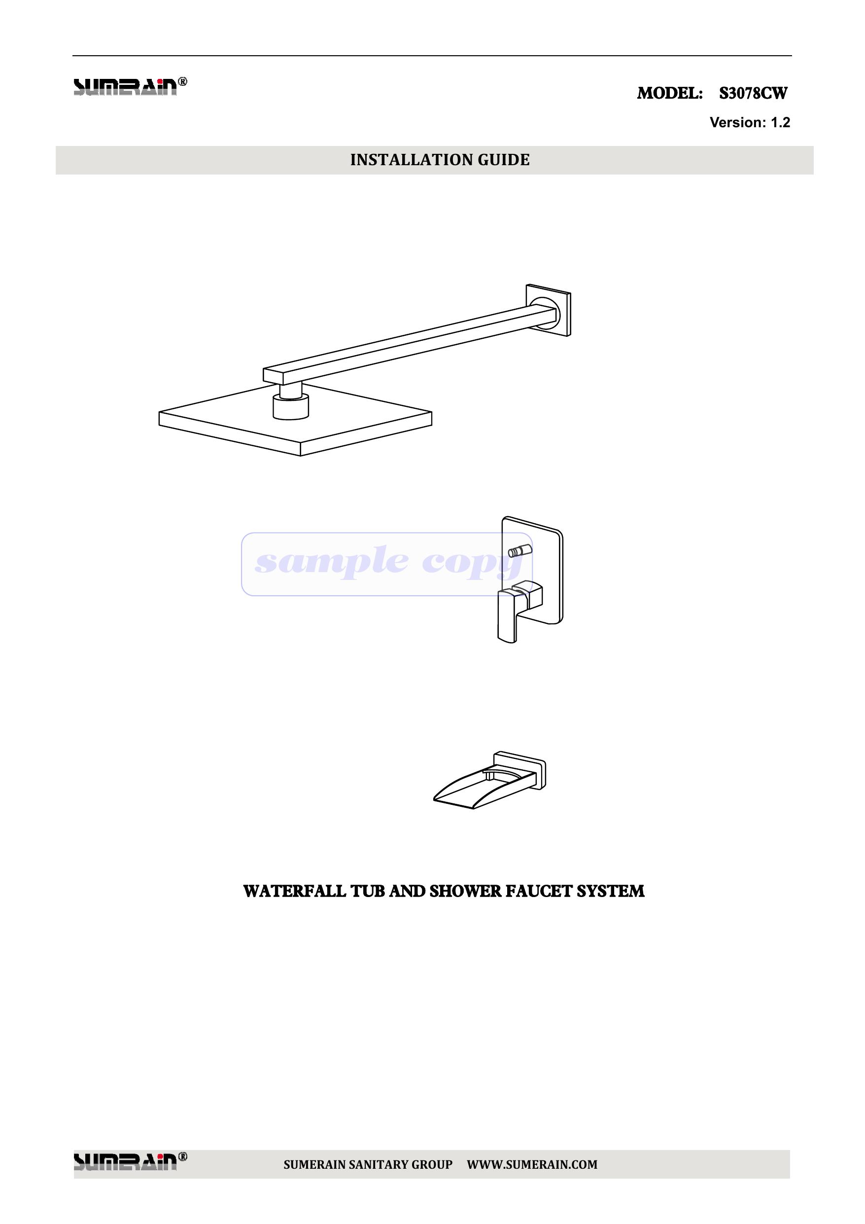 Sample Copy Efaucets Com Manualzz