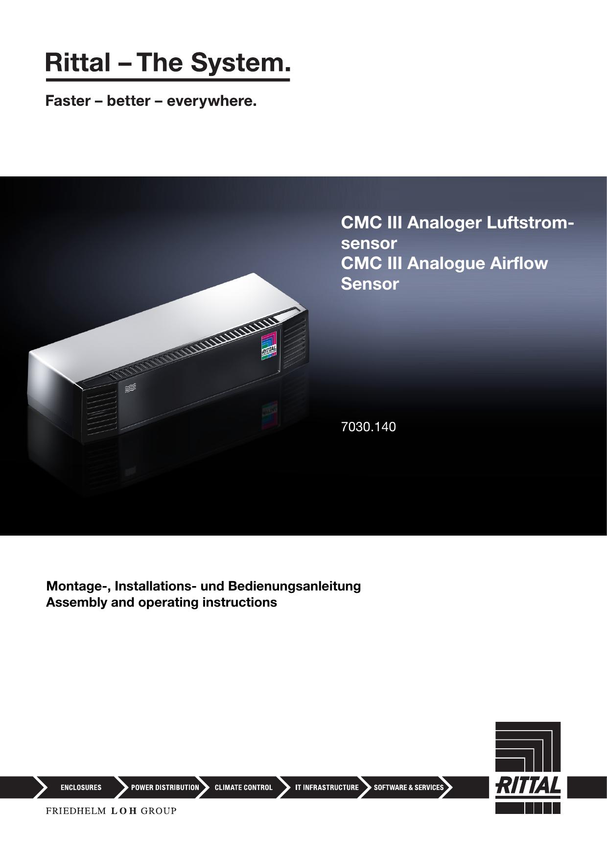 sensor CMC III Analogue Airflow Sensor | manualzz com