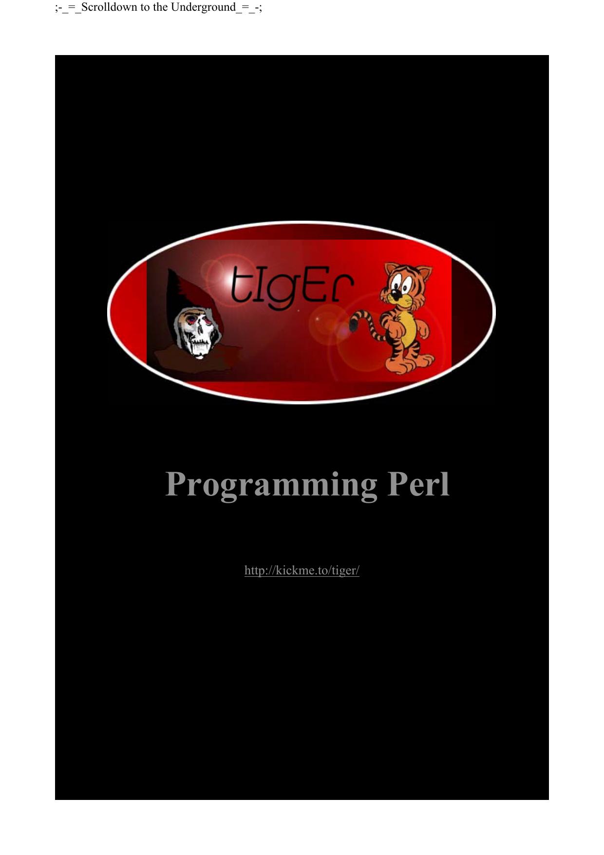 Programming Perl Manualzz Com