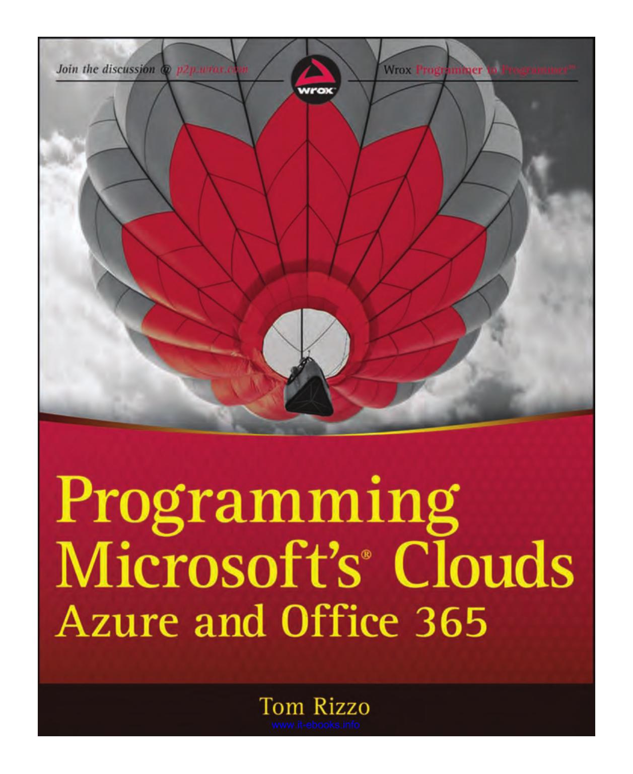 Programming Microsoft`s Clouds | manualzz com