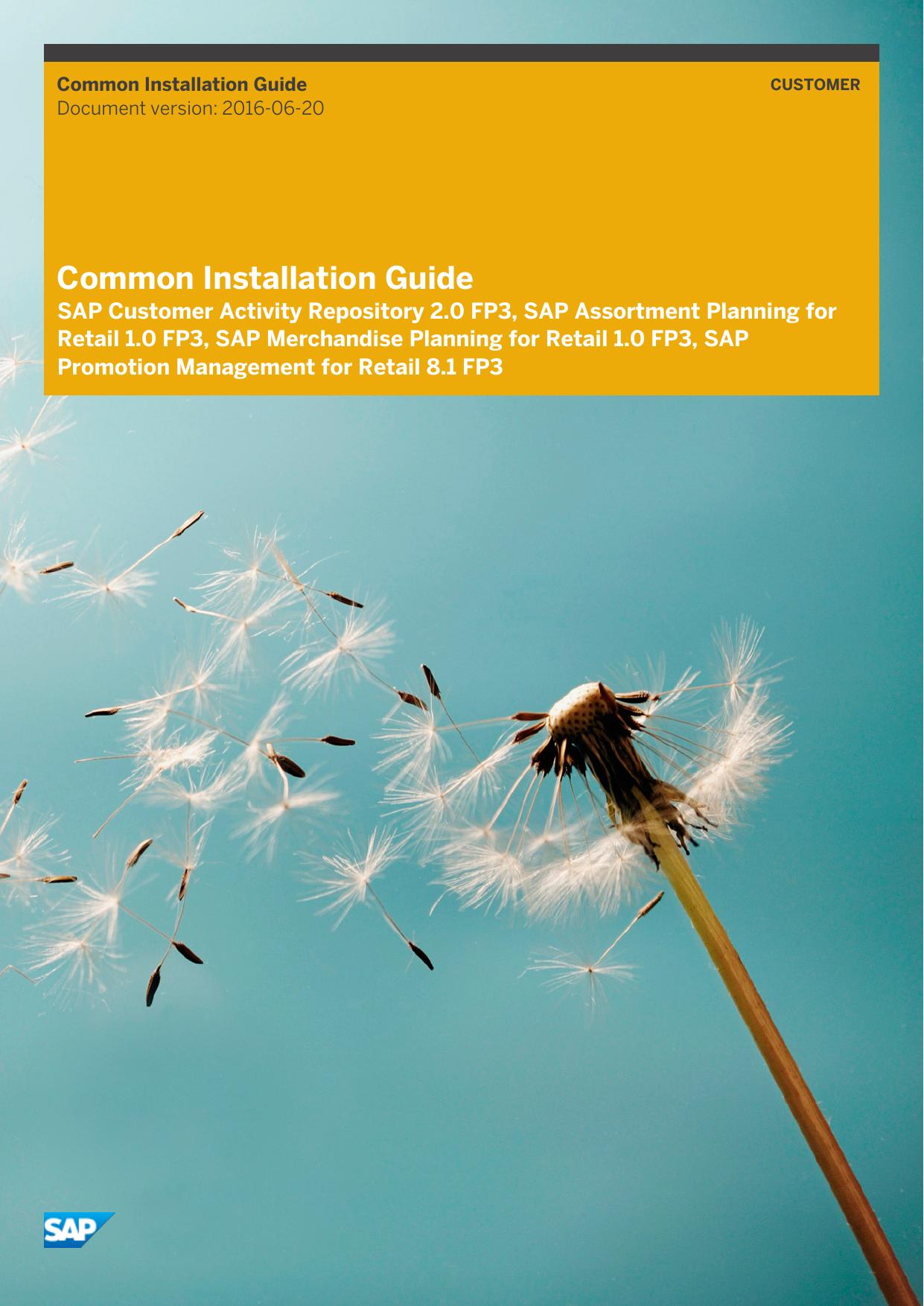 Common Installation Guide | manualzz com
