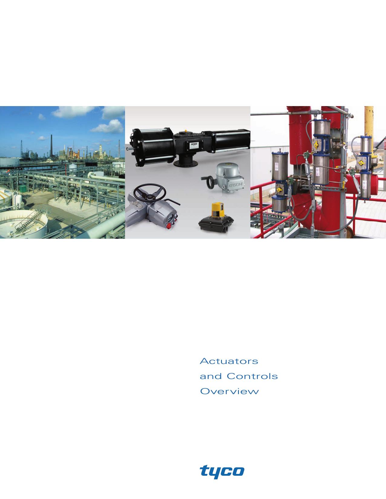 Actuators and Controls Overview | manualzz com