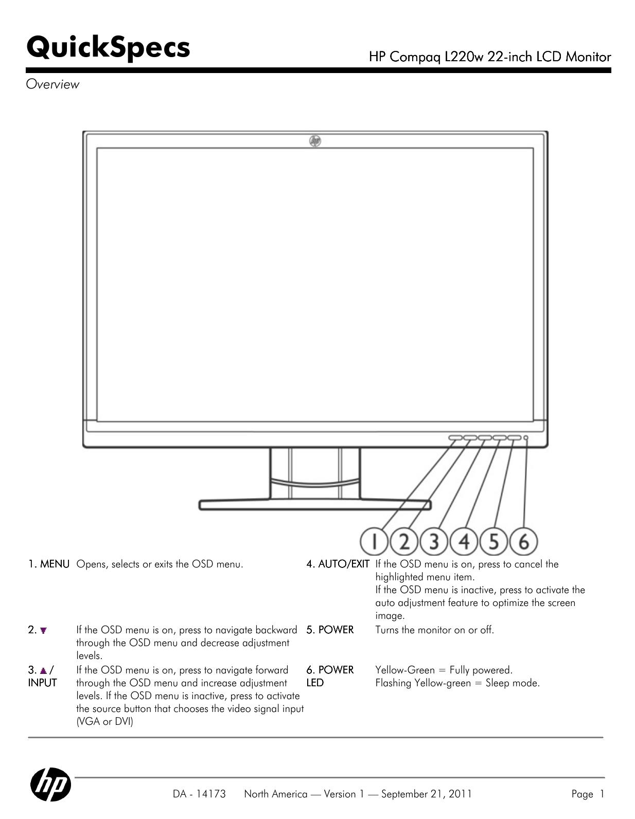 HP COMPAQ L220W LCD MONITOR WINDOWS 7 64BIT DRIVER DOWNLOAD