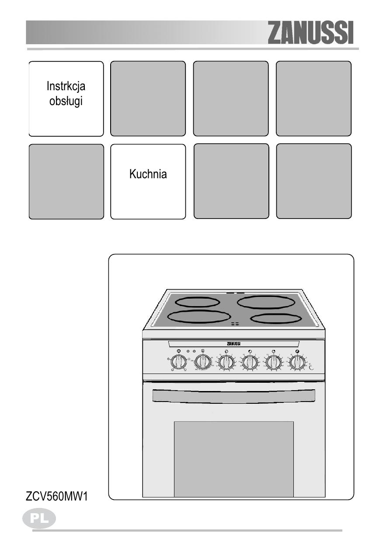 Zanussi Zcv560mw1 User Manual Manualzz