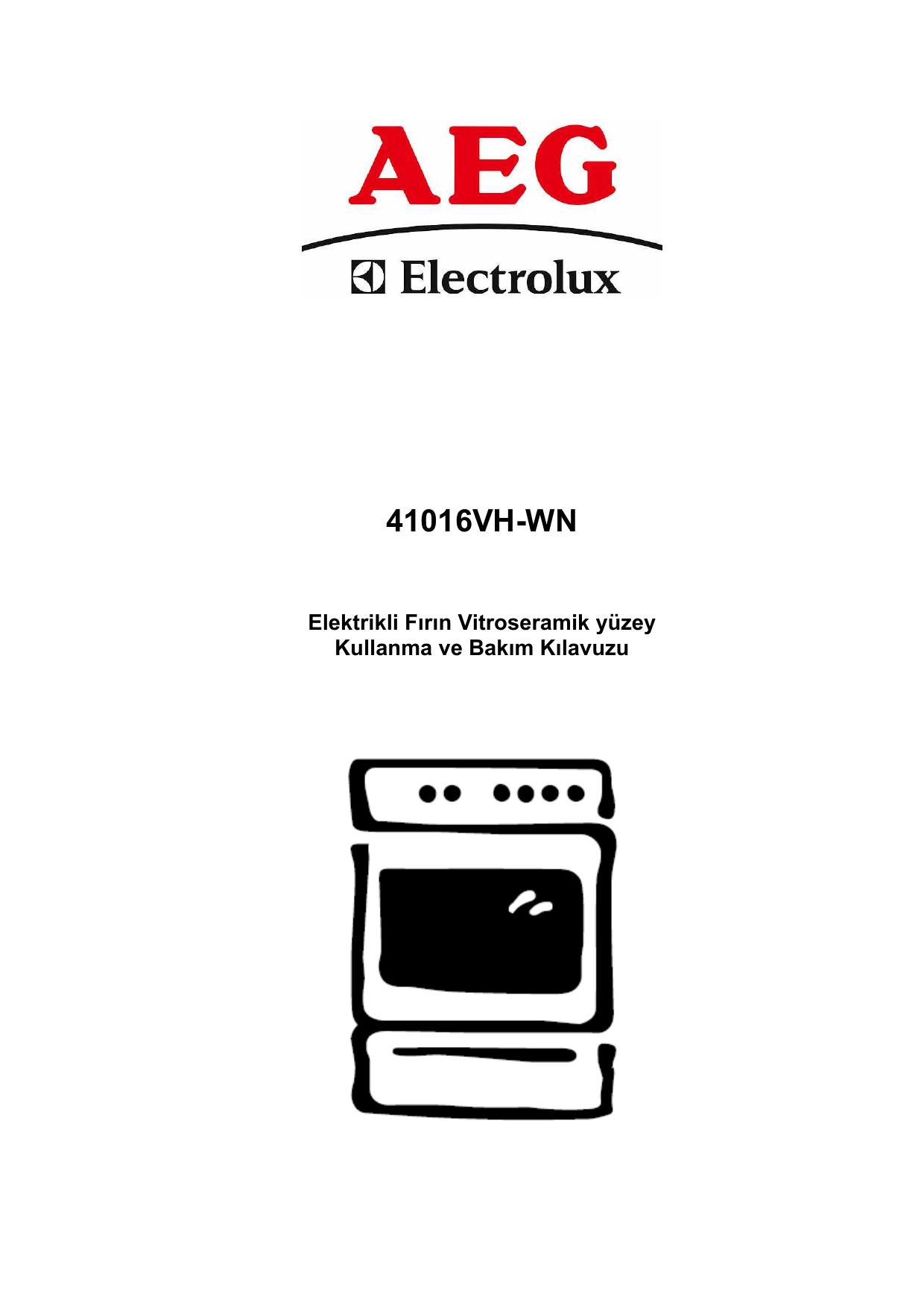 Aeg Electrolux 41016vh Wn Kullanim Kilavuzu Manualzz Com