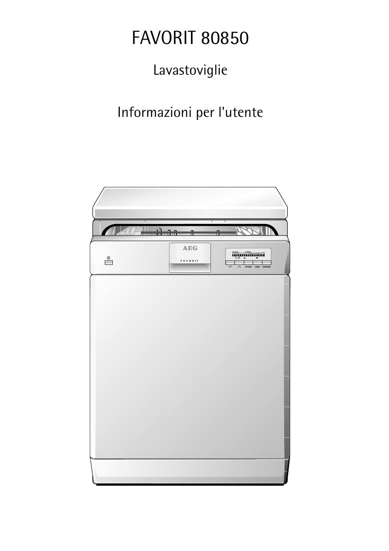 Aeg Assistenza Clienti.Aeg Fav80850 Manuale Utente Manualzz Com