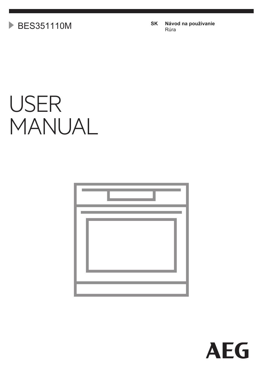 a17b35144f389 Aeg BES351110M Používateľská príručka   manualzz.com