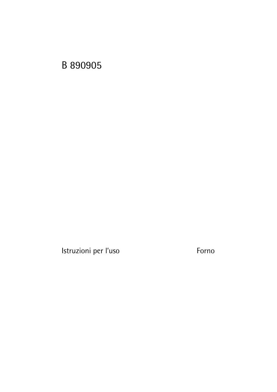 Miscela Per Pulire Il Forno aeg-electrolux b89090-5 manuale utente | manualzz