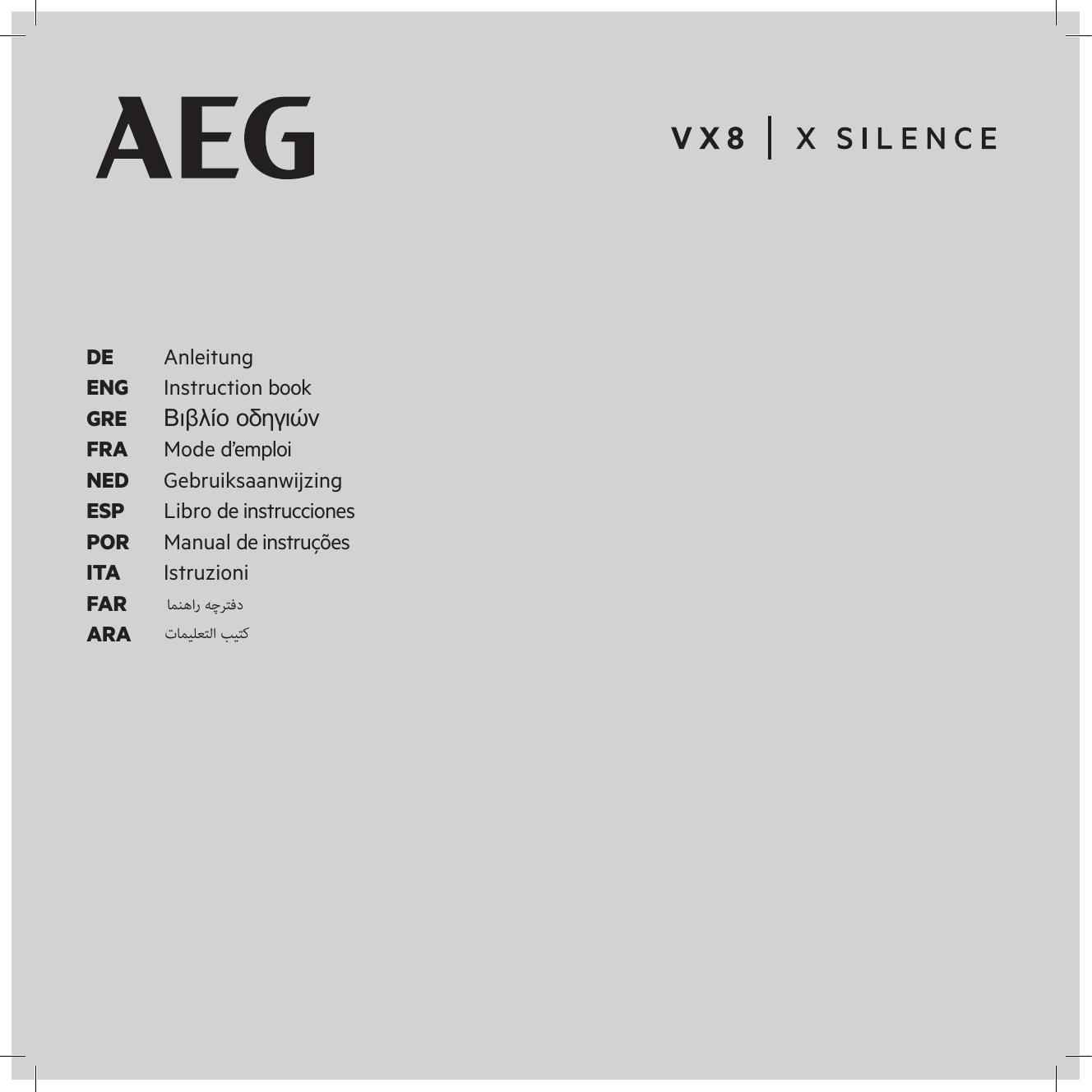Oeko 10 sacs pour aspirateur convient pour AEG vx8-4