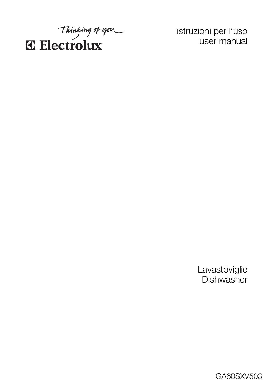 Cosa Non Mettere Nell Asciugatrice electrolux ga60sxv503 user manual | manualzz