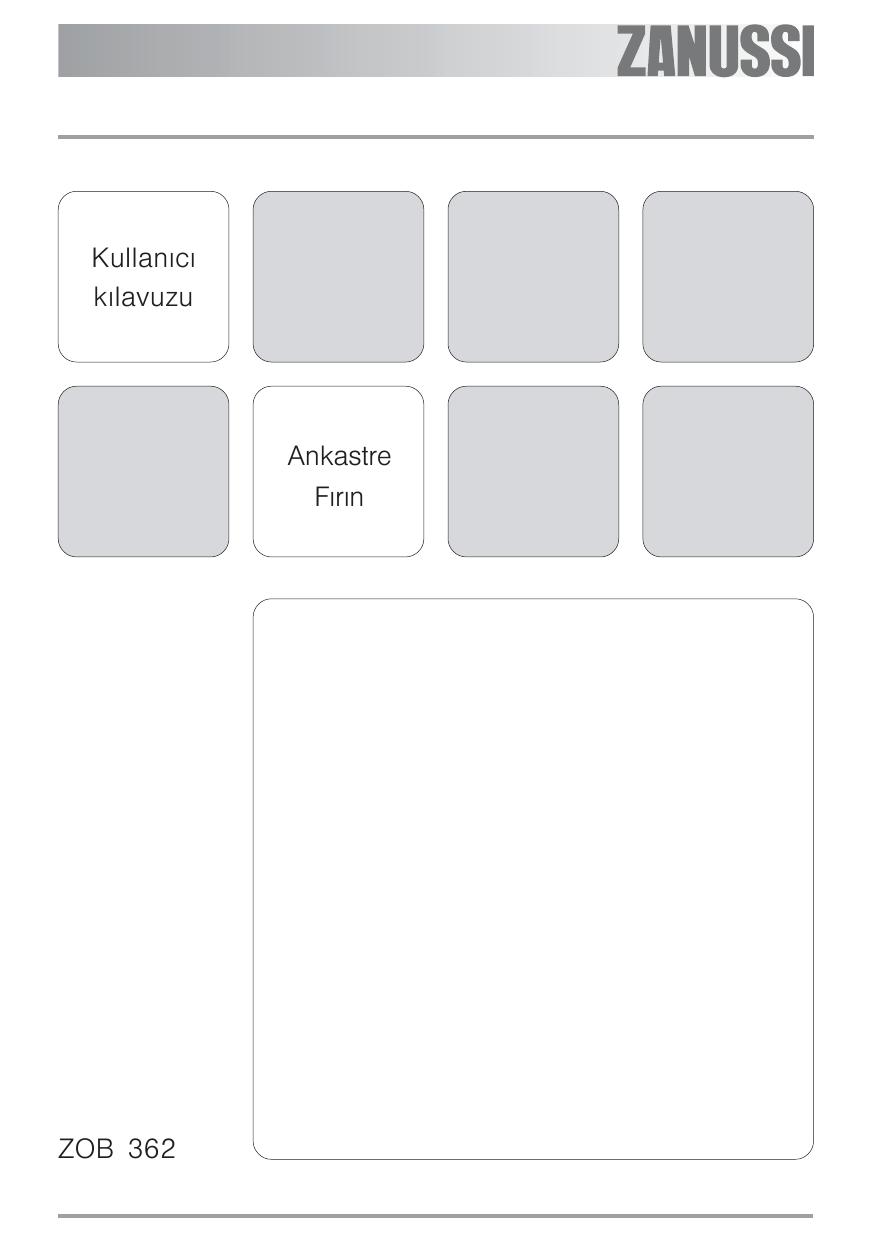 Zanussi Zob362x User Manual Manualzz Com