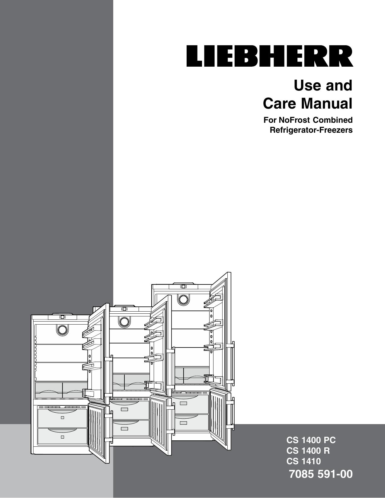 Liebherr CS1410L Use and Care Manual   manualzz com