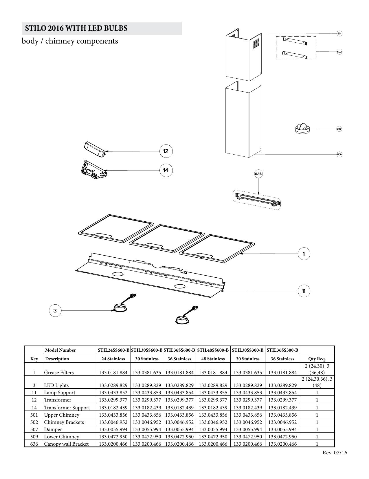 Faber STIL36SS600B Parts | manualzz com