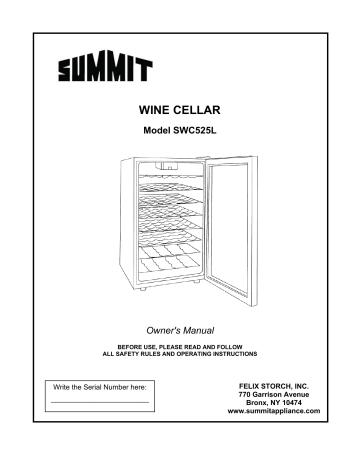 Summit SWC525LDSFR SWC525LManual.pdf   Manualzz