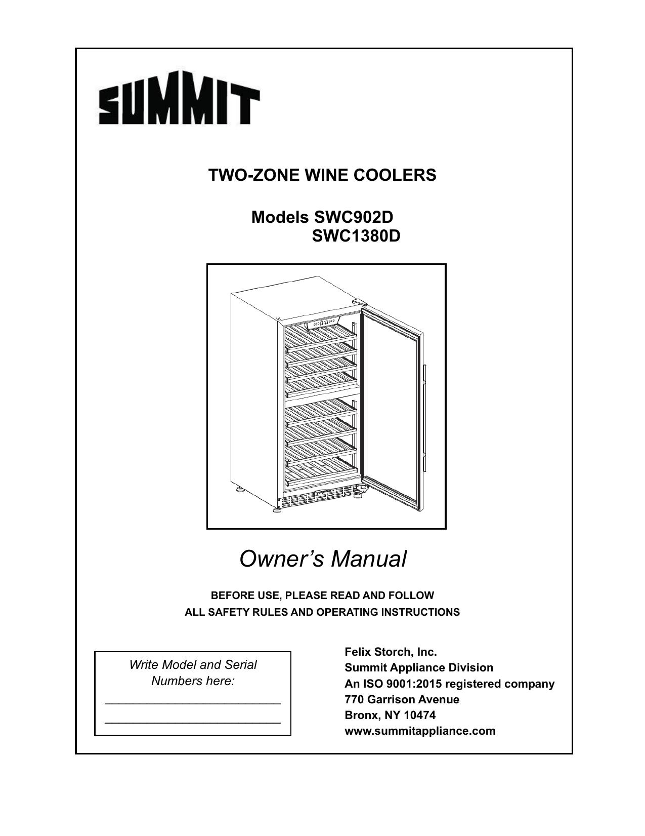 Summit Refrigerator Wiring Diagram