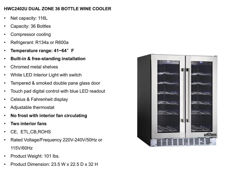 Thor Kitchen Wine Cooler