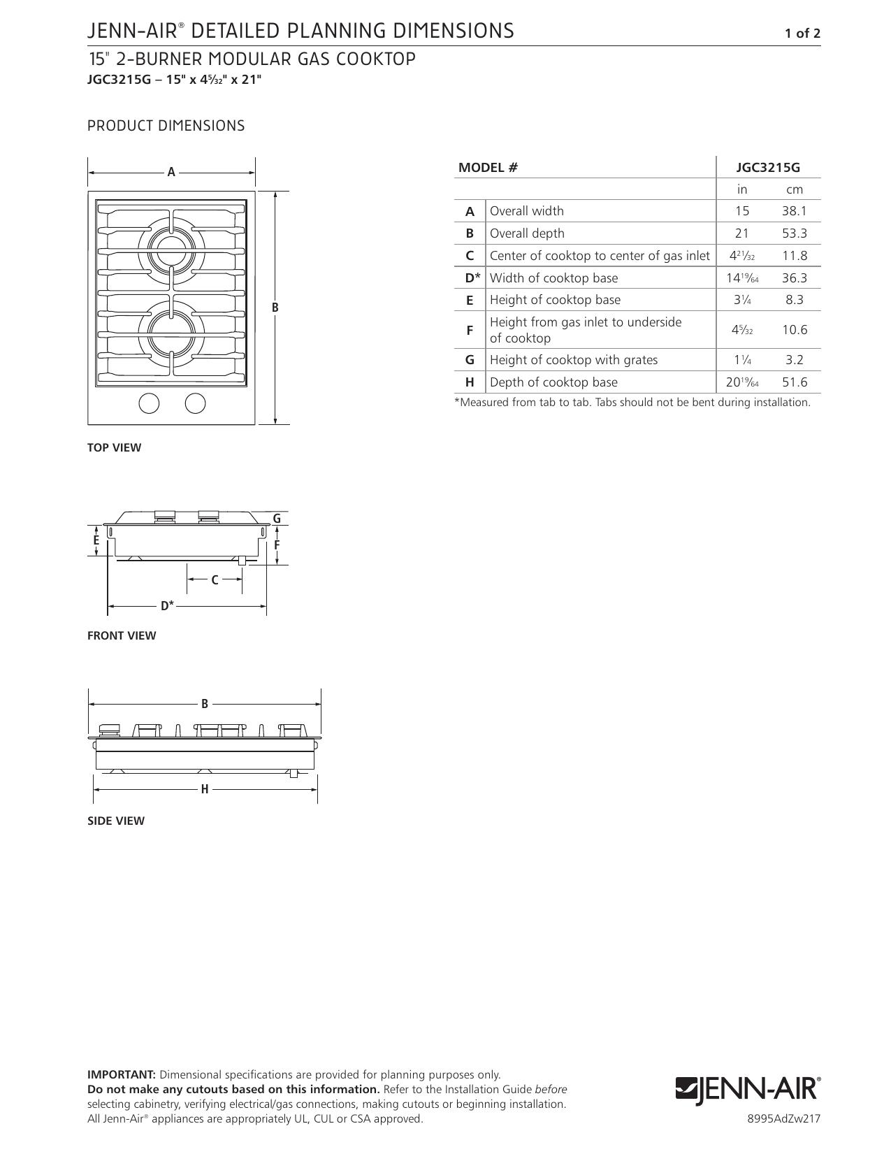 Jenn-Air JGC3215GS Diion Guide   manualzz.com on jenn air cooktop manuals, bosch cooktop wiring diagram, jenn air cooktop parts, jenn air cooktop control panel, electric cooktop wiring diagram, admiral cooktop wiring diagram, install cooktop diagram, frigidaire cooktop wiring diagram, ge cooktop wiring diagram, jenn air cooktop cover, jenn air cooktop installation,