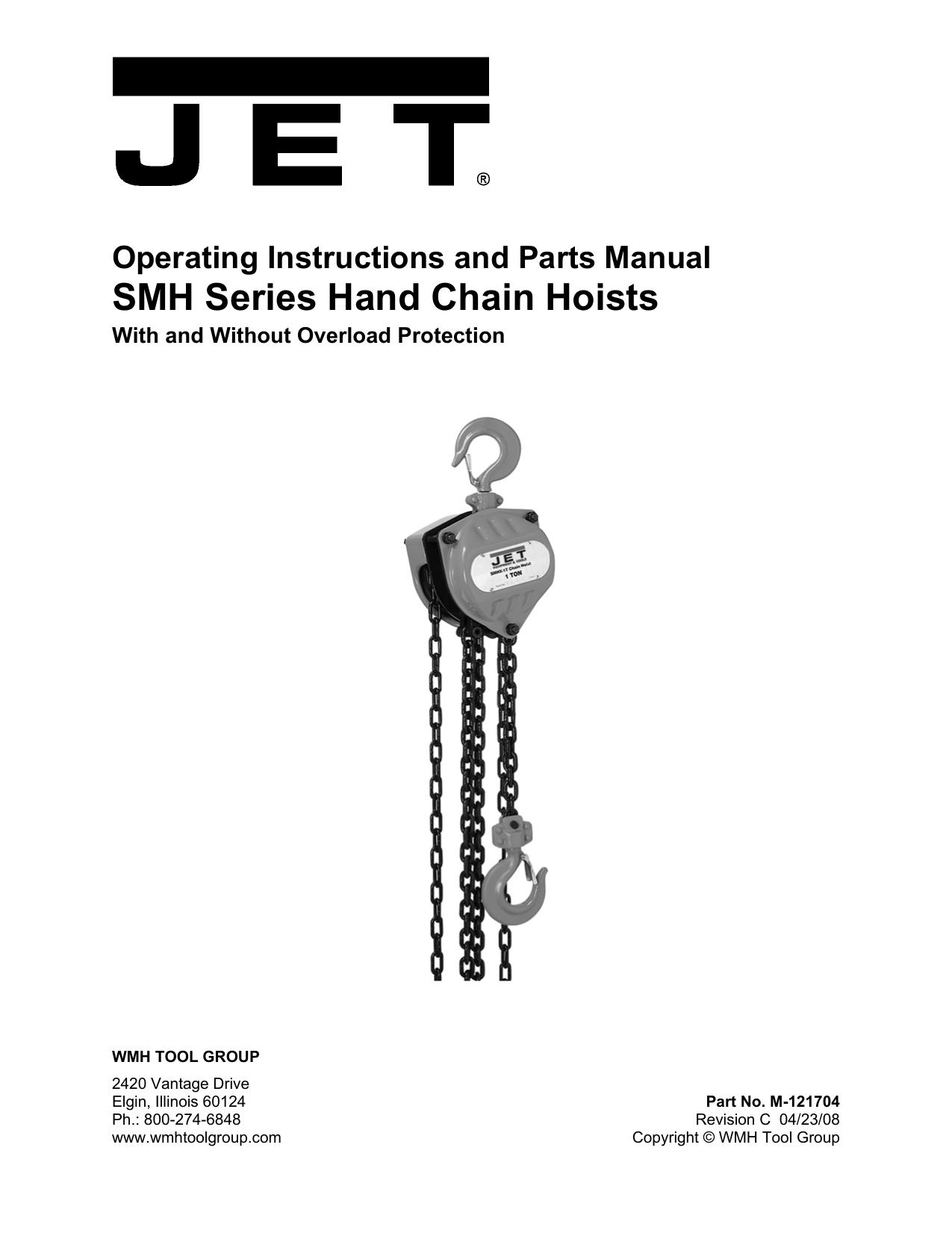 Jet Tools Personal Lift M