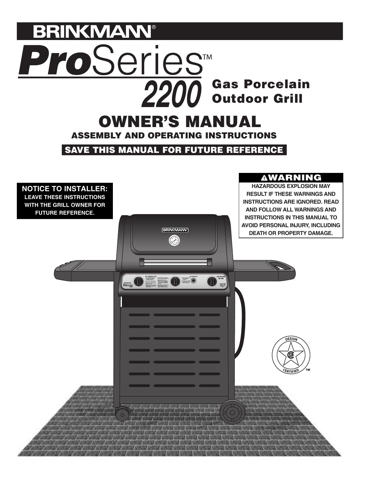 Brinkmann Electric Smoker Grill Manual | Bruin Blog