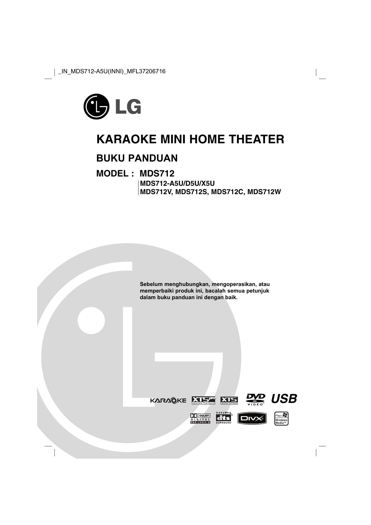 Lg Mds712 A5u Mds712 Owner S Manual Manualzz