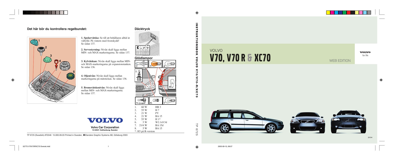 Volvo Xc70 2004 Kullanici El Kitabi Manualzz