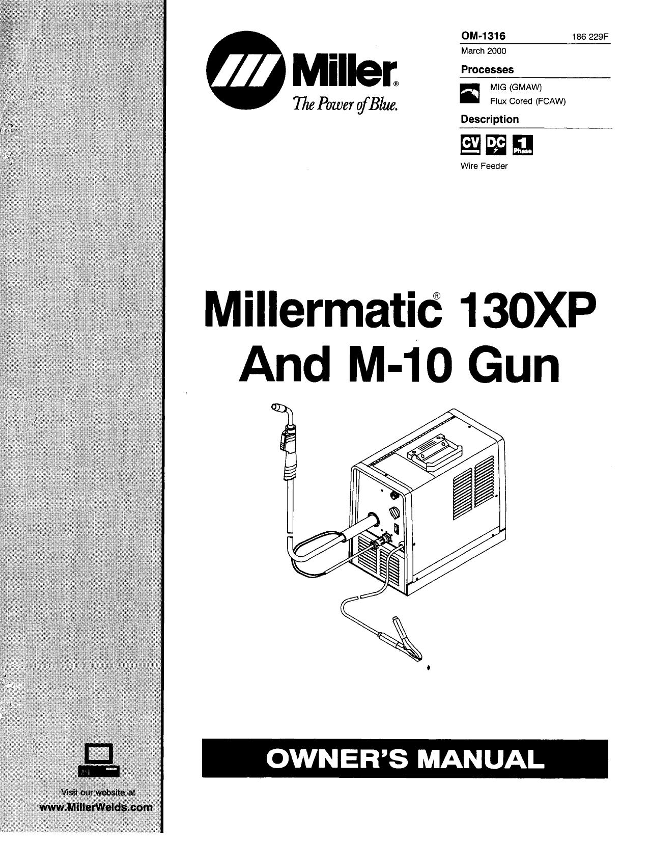Miller KK40 Owner's manual   Manualzz