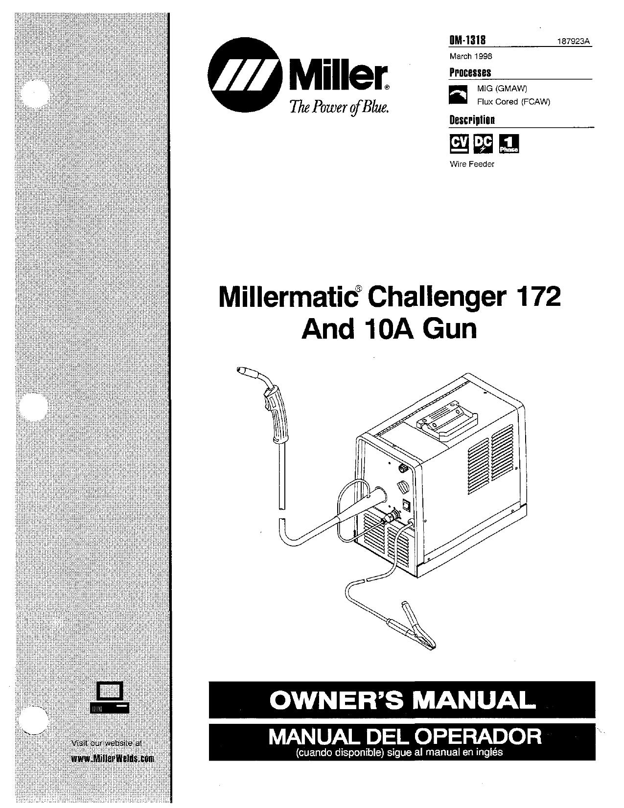 Miller KJ40 Owner's manual   Manualzz