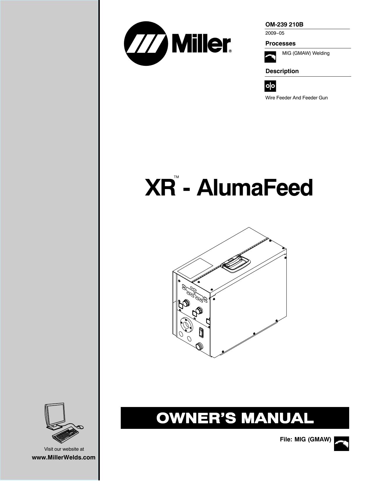 Miller LK40V Owner's manual   Manualzz