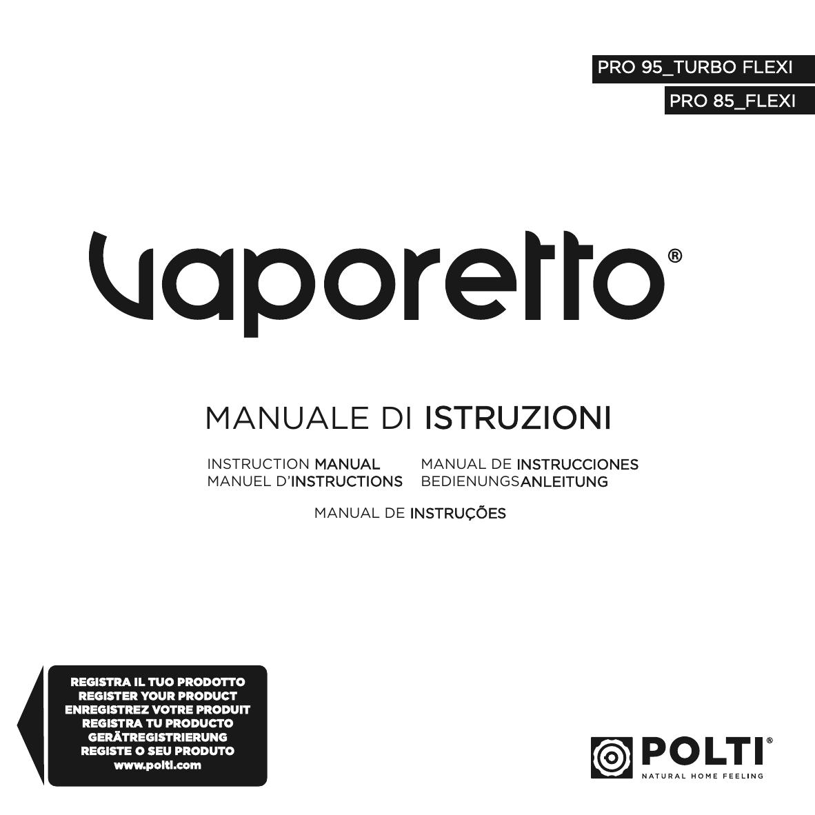 Setole in Ottone /& Kalstop PAEU0094 Anticalcare per Apparecchi a Caldaia Polti PAEU0297 Kit 3 Spazzolini