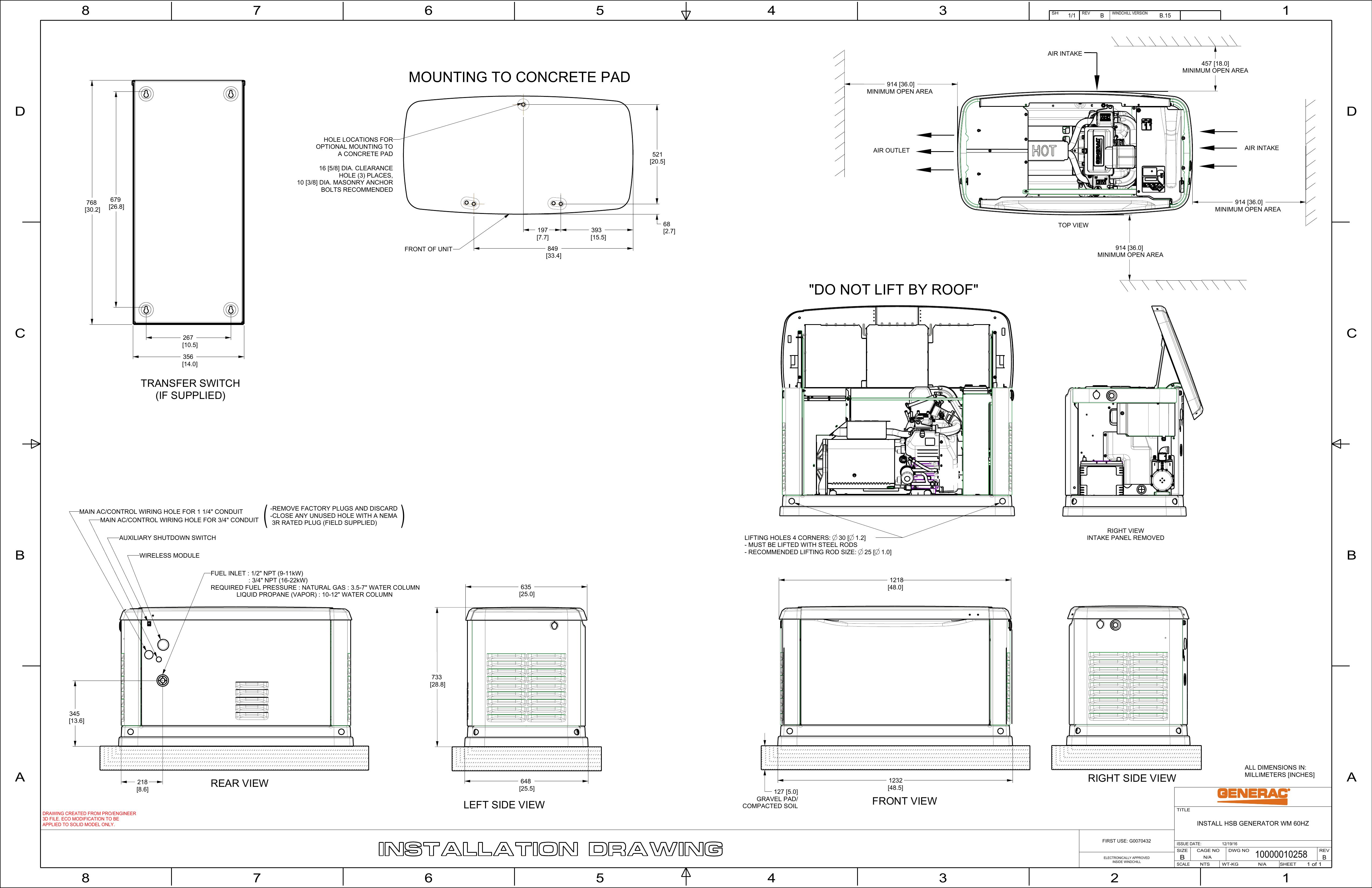 Generac 11 kW G0070311 Manual   Manualzz   Generac 11kw Generator Wiring Schematic      Manualzz