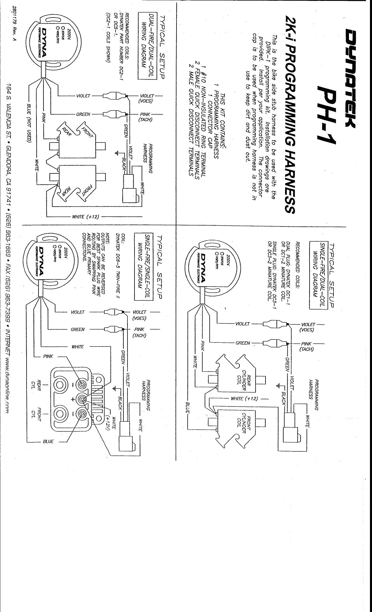 Dynatek Dyna 2000 Hd Owner Manual