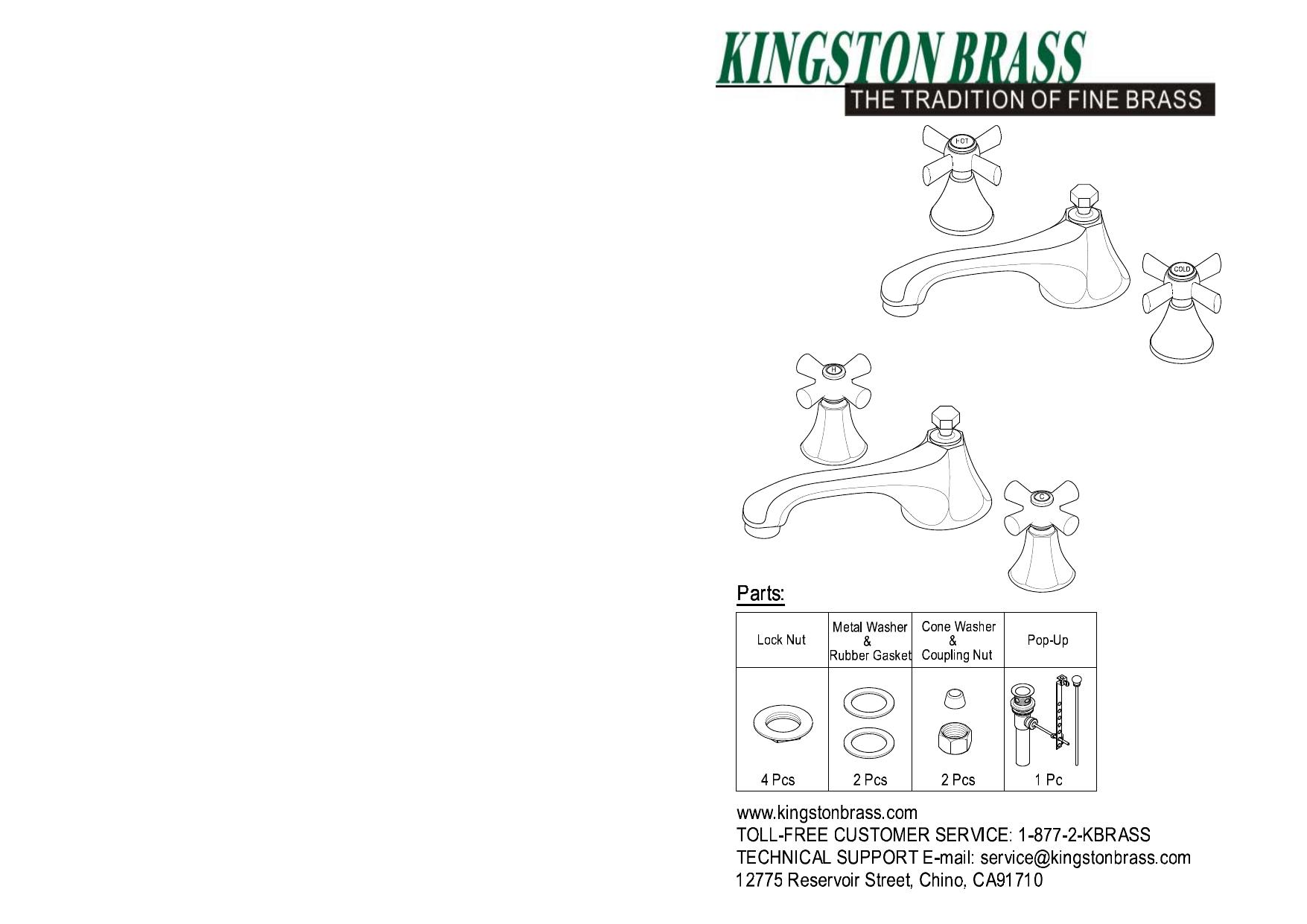 Single Handle Bath Faucet Repair Manual Guide