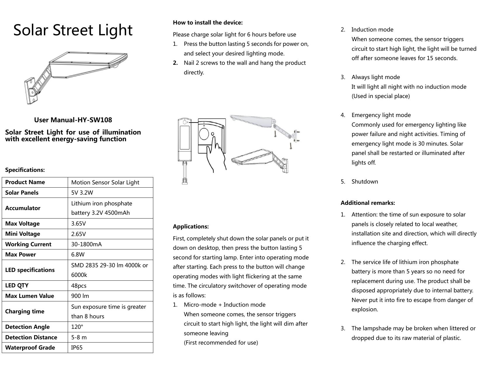 2~8W LED Power IP65 Wall Light Outdoor Garden Lamp Waterproof Fence Yard Lamps