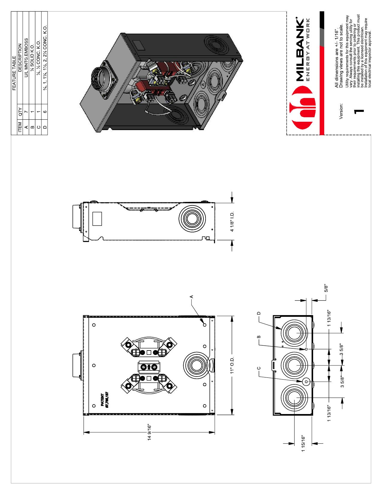 Ge 200 Amp 4 Underground Manual Guide