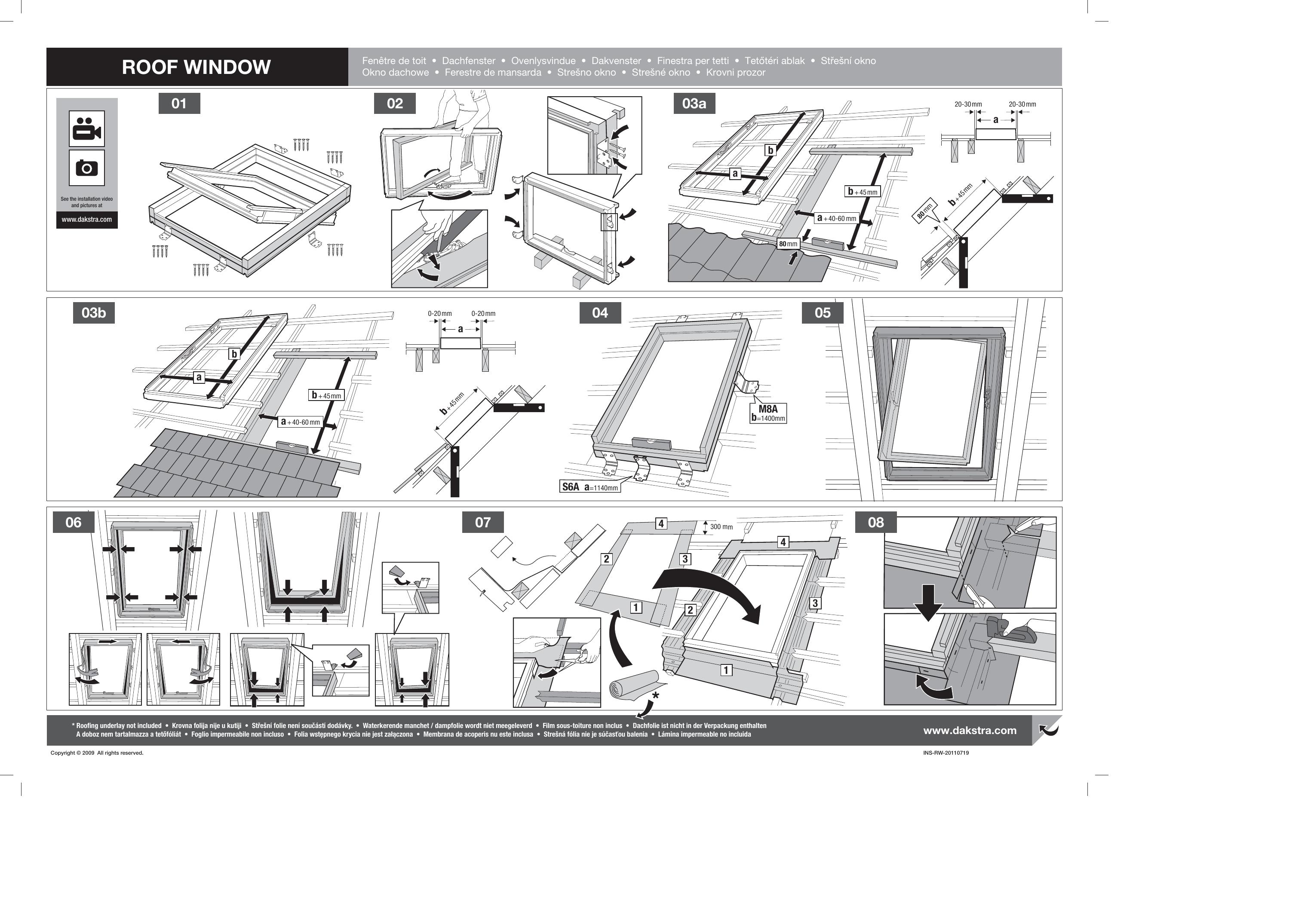 Castorama Fenetre De Toit A Rotation Luminatec Double Vitrage Bois 78 X H 98 Cm User Guide Manualzz